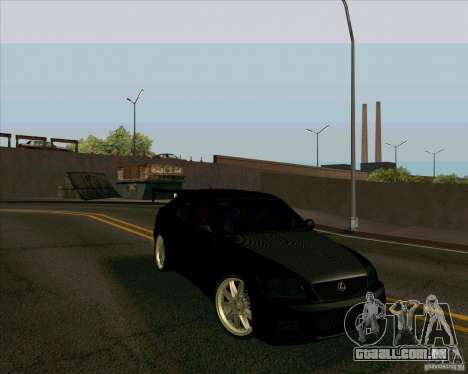 LEXUS IS300 Light tuned para GTA San Andreas