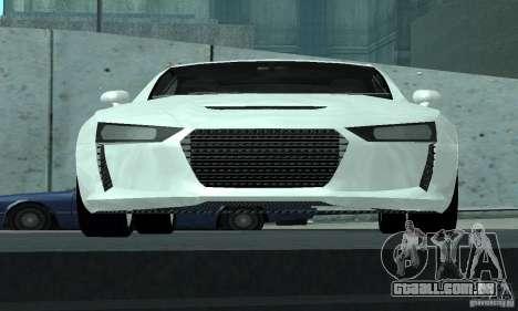 Audi Quattro Concept 2013 para GTA San Andreas vista superior