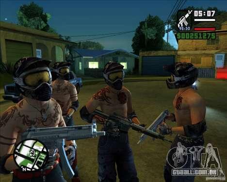 Novas skins para Groove para GTA San Andreas terceira tela