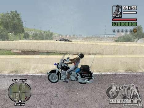 Helmet mod para GTA San Andreas segunda tela