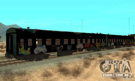 Custom Graffiti Train 1 para GTA San Andreas