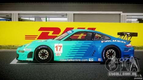 Porsche GT3 RSR 2008 para GTA 4 esquerda vista