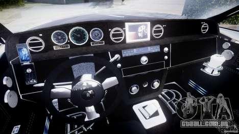 Rolls Royce Phantom Sapphire Limousine Disco para GTA 4 vista de volta