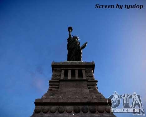 New Statue of Liberty para GTA 4 segundo screenshot