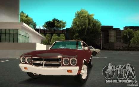 Chevrolet Chevelle SS para GTA San Andreas