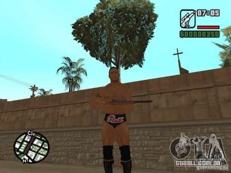 The rock para GTA San Andreas segunda tela