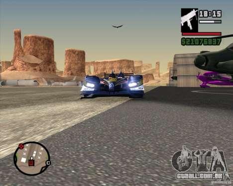 Acura ARX LMP1 para GTA San Andreas vista direita