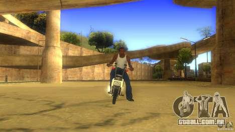 Honda Motocompo para GTA San Andreas esquerda vista
