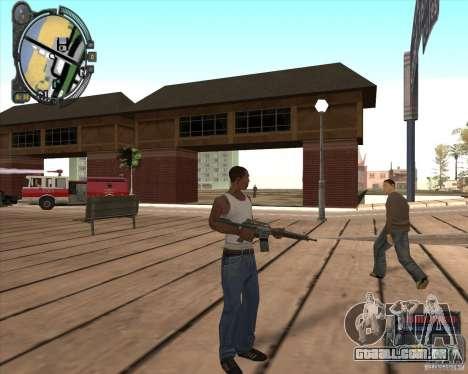 S.T.A.L.K.E.R. Call of Pripyat HUD for SA v1.0 para GTA San Andreas