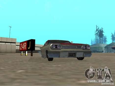 Vodu do GTA 4 para GTA San Andreas esquerda vista