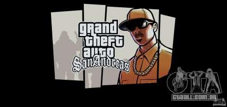 HD Loadscreens v1.01 para GTA San Andreas por diante tela