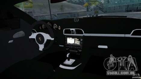 Porsche Targa 4S 2009 para GTA 4 vista lateral