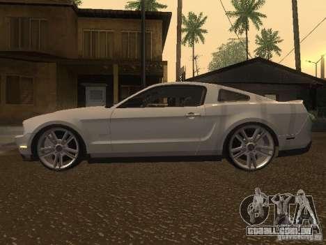 Ford Mustang 2011 GT para GTA San Andreas esquerda vista