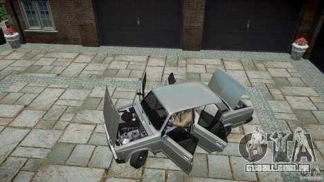 VAZ-2107 v 1.0 para GTA 4 vista de volta