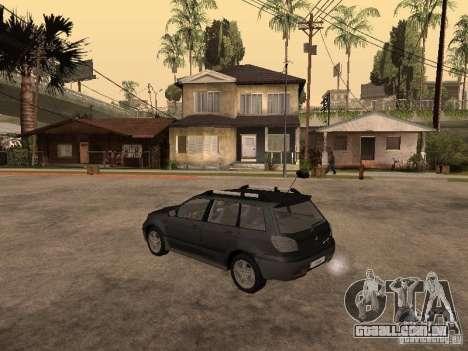 Mitsubishi Outlander 2003 para GTA San Andreas esquerda vista