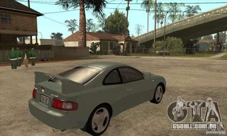 Toyota Celica GT-Four para GTA San Andreas vista direita