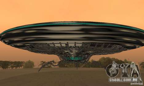UFO para GTA San Andreas