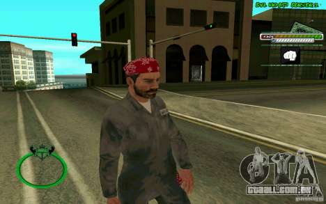 Mechanik HD Skin para GTA San Andreas segunda tela