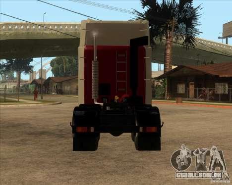 Super Zil v 2.0 para GTA San Andreas traseira esquerda vista