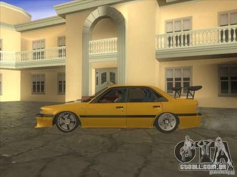 Mazda 626 DRIFT para GTA San Andreas esquerda vista