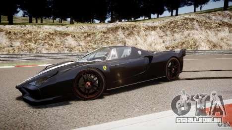 Ferrari FXX para GTA 4 vista superior