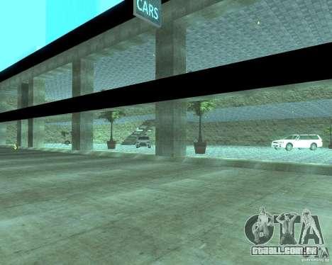 HD Motor Show para GTA San Andreas quinto tela