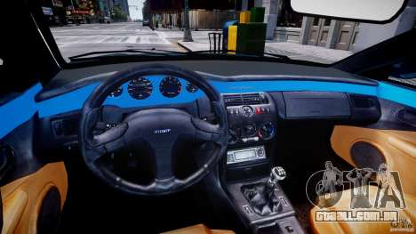 Fiat Coupe 2000 para GTA 4 vista de volta