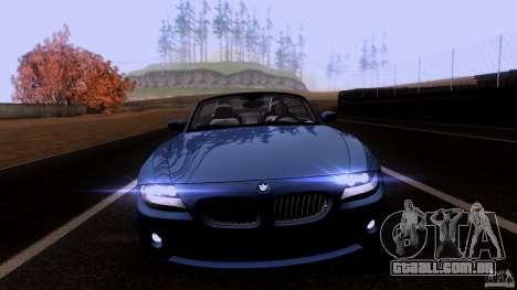 BMW Z4 V10 para GTA San Andreas esquerda vista
