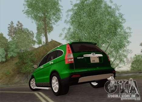 Honda CRV 2011 para GTA San Andreas vista direita
