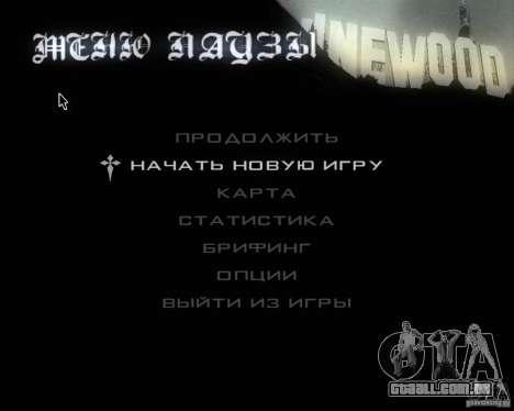 GTA SA - Black and White para GTA San Andreas sétima tela