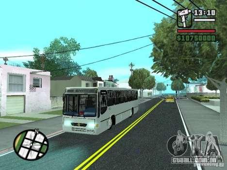 Busscar Urbanus SS Volvo B10M para GTA San Andreas