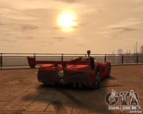 Mazda Furai para GTA 4 esquerda vista