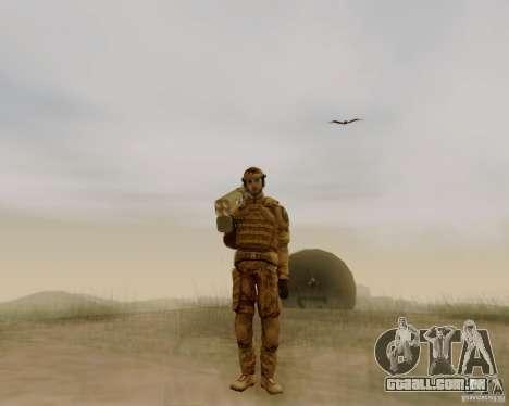 Tom Clancys Ghost Recon para GTA San Andreas segunda tela