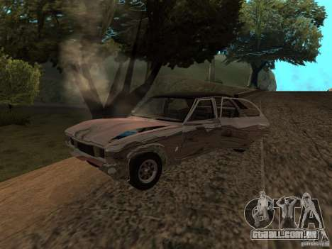 Ford Cortina MK 3 2000E para GTA San Andreas vista interior