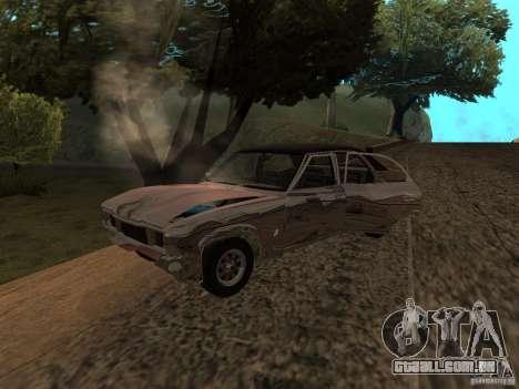 Ford Cortina MK 3 2000E para GTA San Andreas vista interior