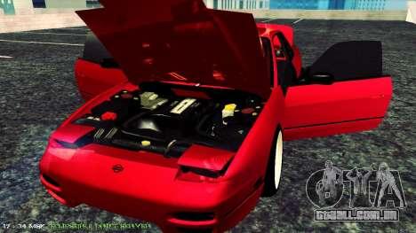 Nissan Onivia para GTA San Andreas vista traseira