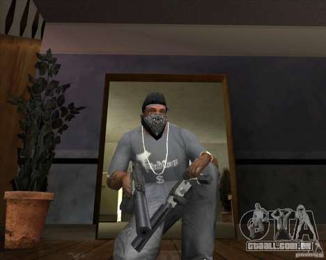 Ingram MAC-10 de Counter-strike para GTA San Andreas