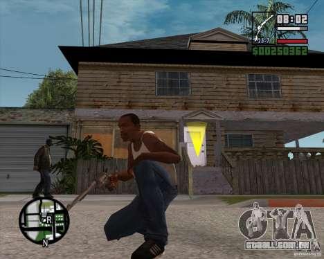 Revólver para GTA San Andreas terceira tela