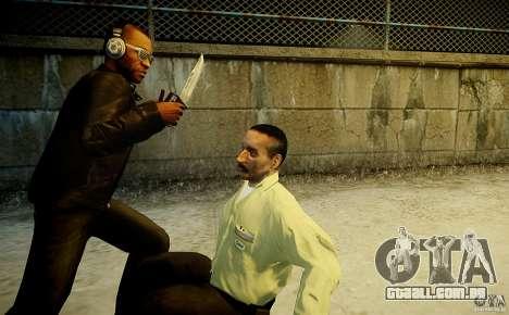 B.A.K. Knife para GTA 4 por diante tela