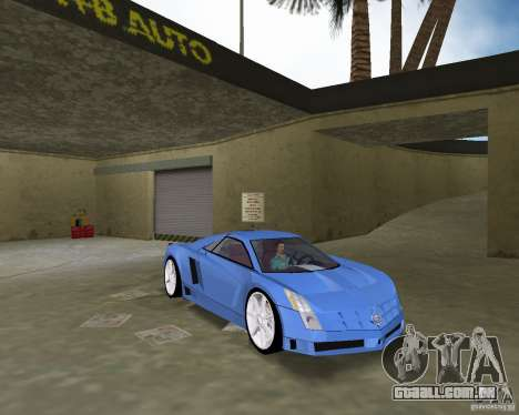 Cadillac Cien para GTA Vice City vista direita