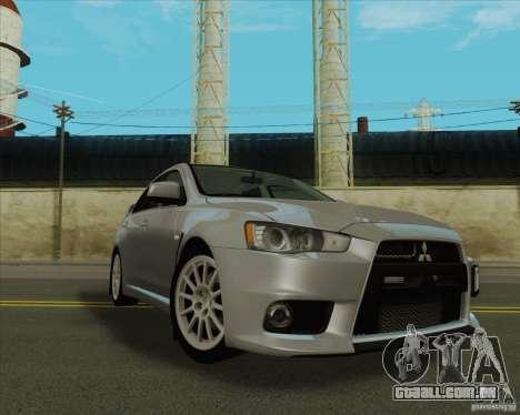 New Playable ENB Series para GTA San Andreas