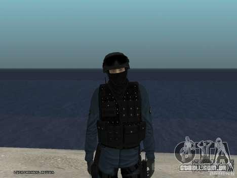 MOTIM policial para GTA San Andreas