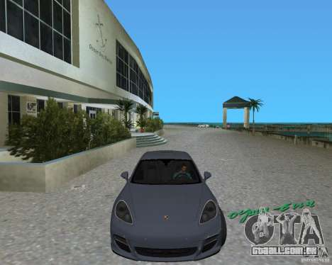 Porsche Panamera para GTA Vice City