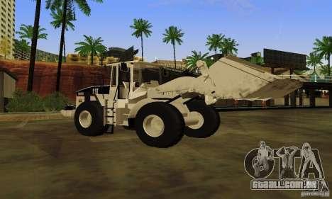 Escavadeira CAT para GTA San Andreas