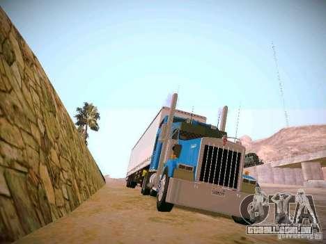 Kenworth W900 para GTA San Andreas vista direita