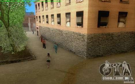 Estradas concretas de Los Santos Beta para GTA San Andreas sexta tela