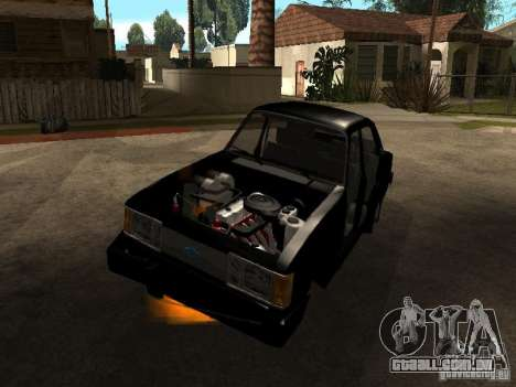 Chevrolet Opala BMT para GTA San Andreas vista direita