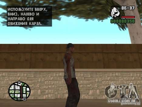 Markus young para GTA San Andreas quinto tela