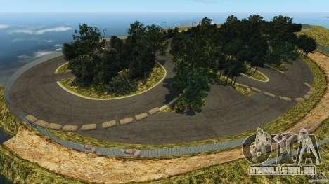 Bihoku Drift Track v1.0 para GTA 4 por diante tela