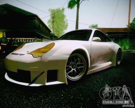 Porsche 911 GT3 para GTA San Andreas traseira esquerda vista